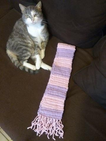 Écharpe pour fillette