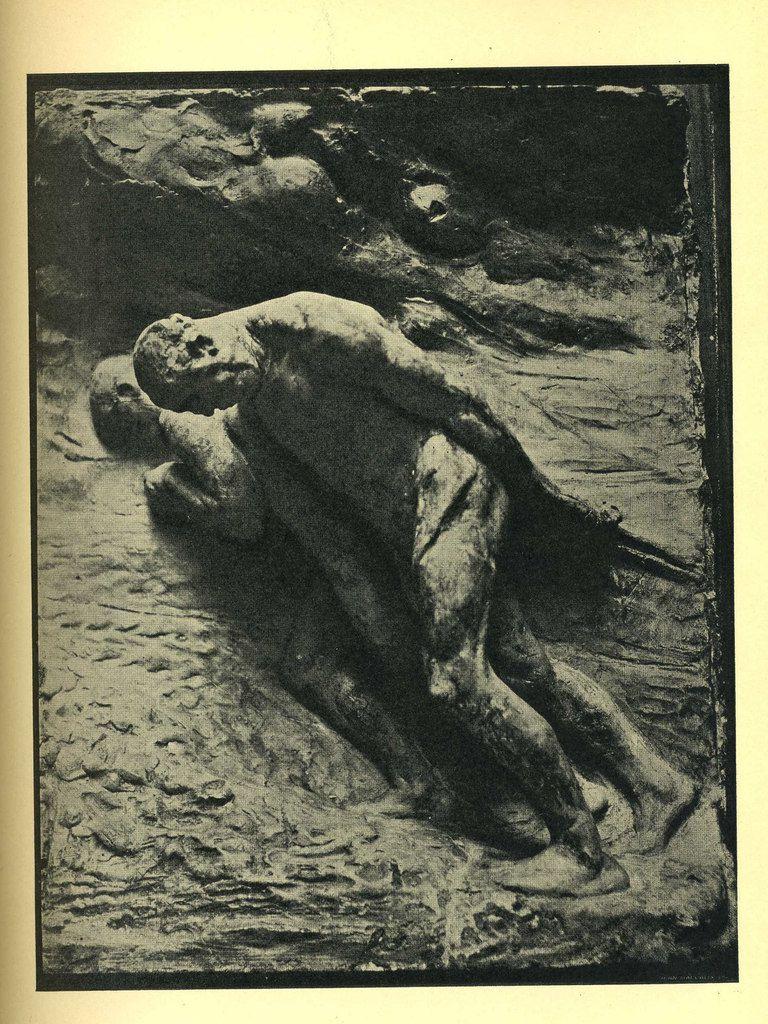 """Constantin Meunier, """"La glèbe"""", haut-relief, bronze, 1892 - Localisation : Paris, Musée d'Orsay / Bruxelles, Musées Royaux des Beaux-Arts de Belgique"""