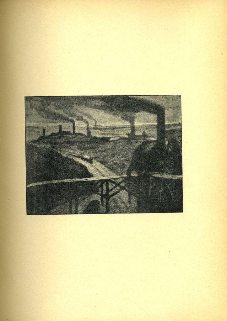 """Constantin Meunier, """"Au pays noir"""", huile sur toile, 1893 - Reproduction en noir et blanc pour cette édition - Localisation : Paris, Musée d'Orsay"""