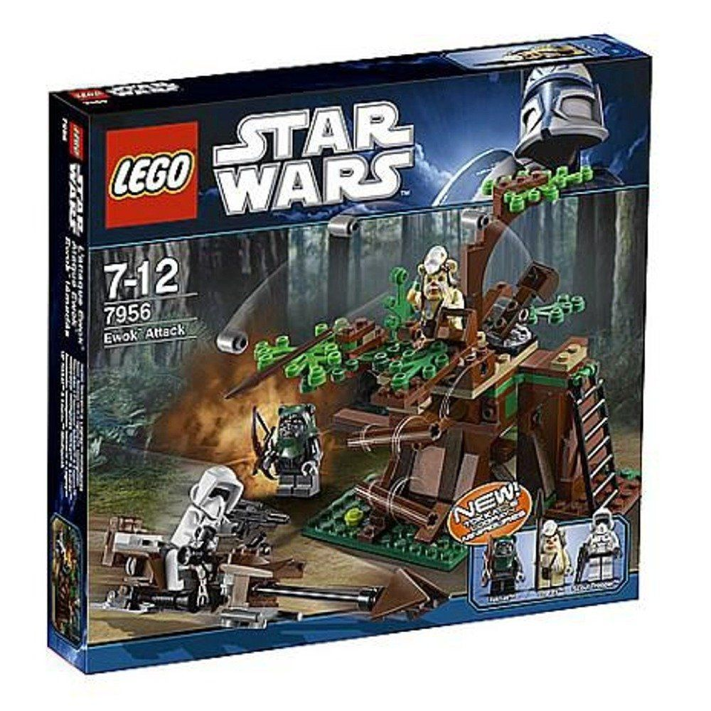 lego star wars base ewok l go star wars d 39 than. Black Bedroom Furniture Sets. Home Design Ideas