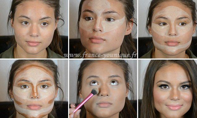 Tuto beaut comment r ussir son contouring younique - Comment faire le maquillage de kim kardashian ...
