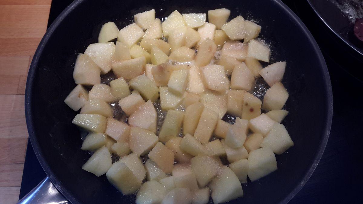 Boudin aux pommes à ma façon
