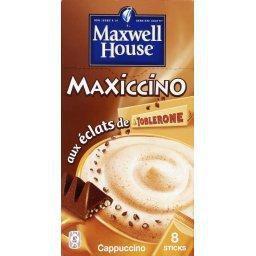 Cookies cappuccino aux éclats de Toblerone et pépites de chocolat