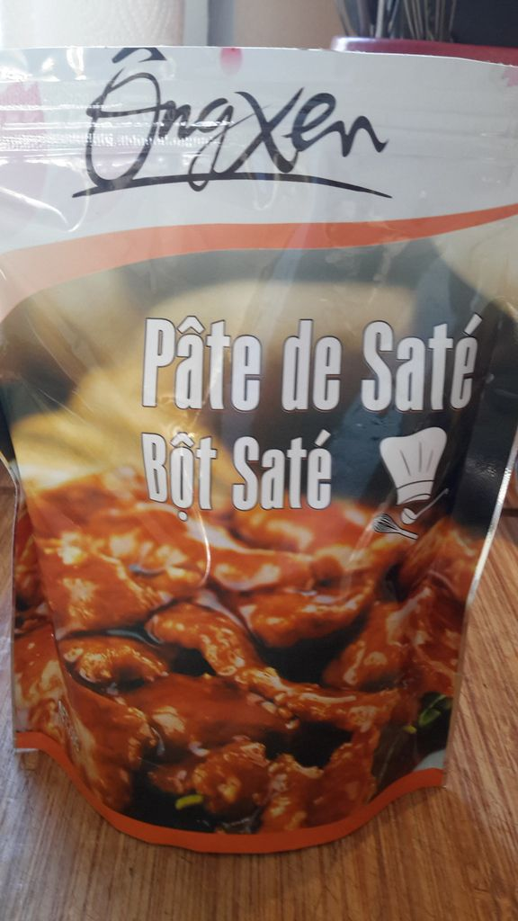 poulet satay cookeo