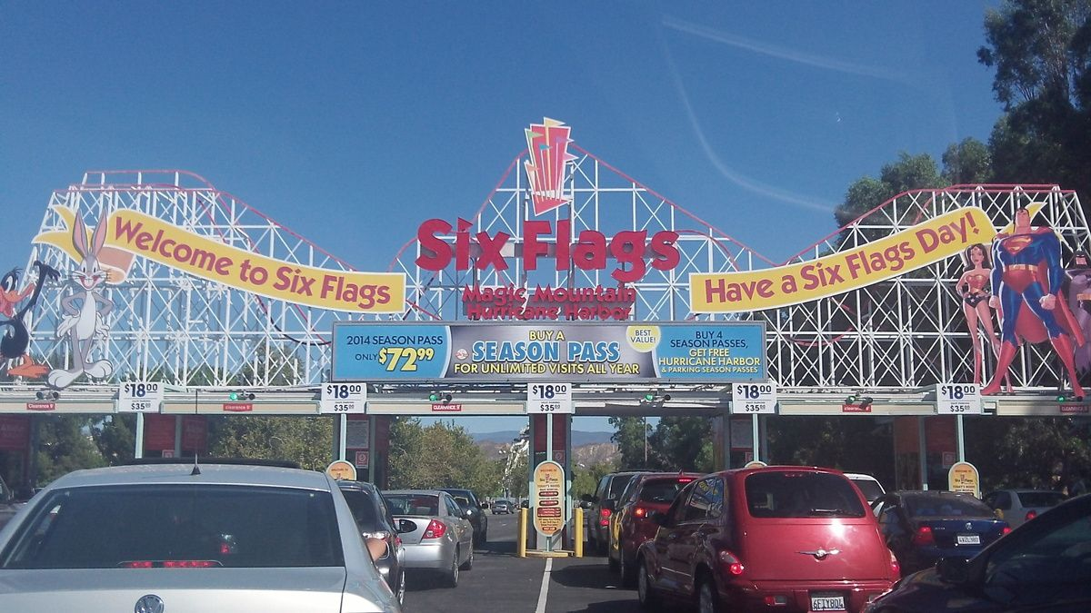 Six Flags Magic Mountain [Trip L.A-Vegas 2013]