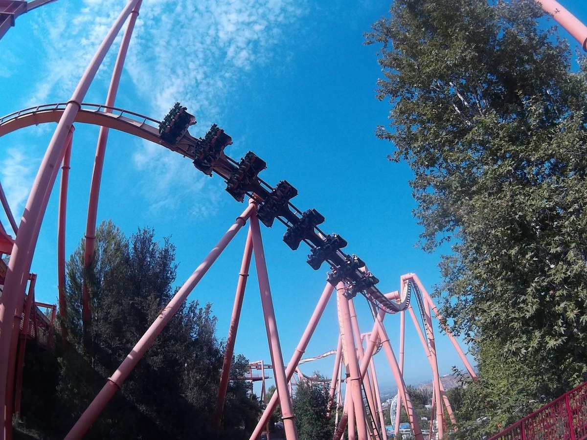 Haplo et Six flags magic mountain