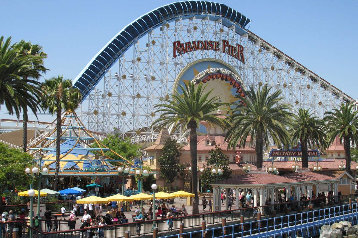 The amazing Disney California Adventure