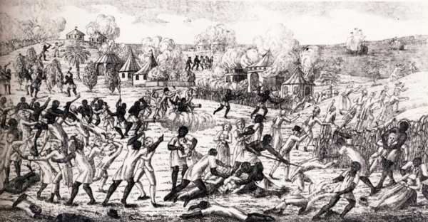 22 août 1791 Insurrection de St Domingue