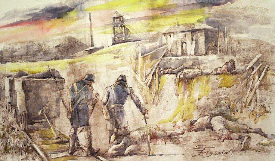 La fusillade du Brûlé à La Ricamarie