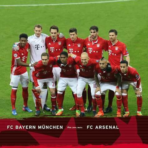 Bayern 5-1 Arsenal : Men vs Boys Act 1