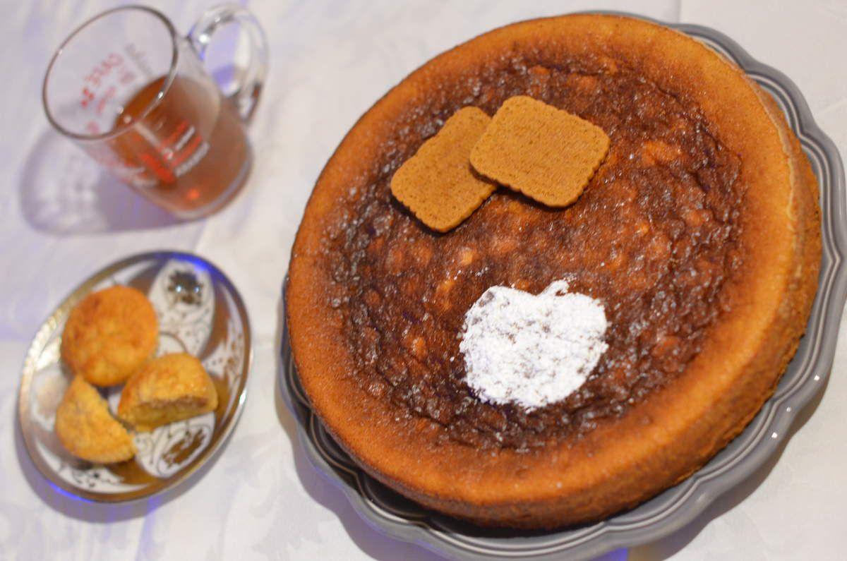 Gâteau pomme/speculos