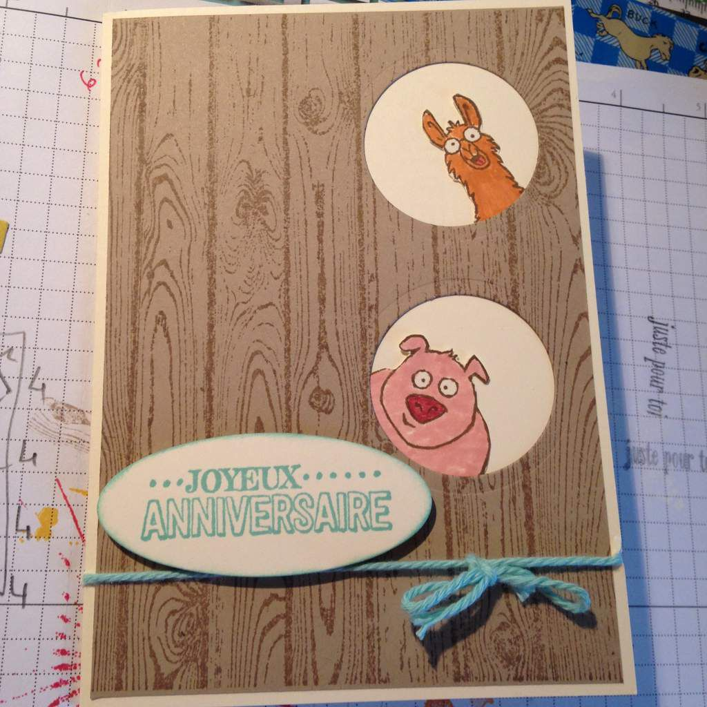 Cartes Stampin UP!