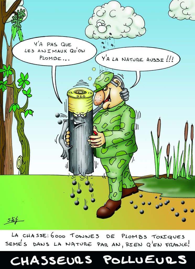 Chasseurs pollueurs