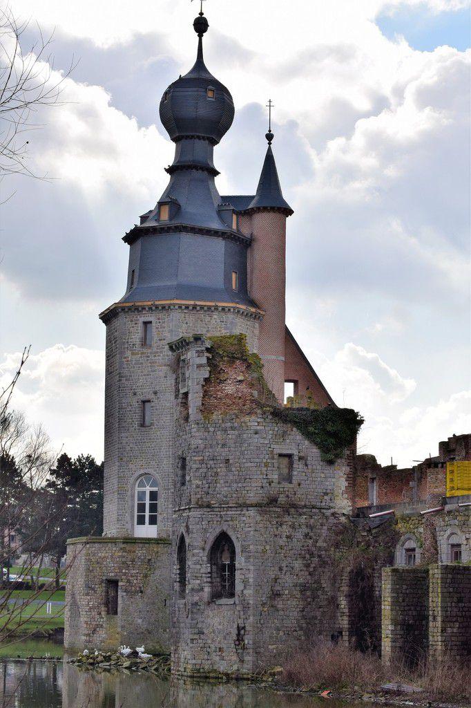 Chateau d'Havré ..Mons