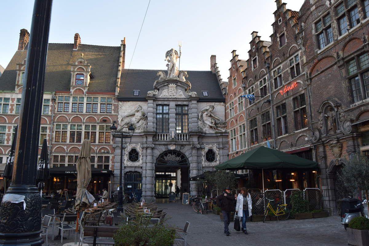 un après-midi à la ville de Gand ( Belgique )