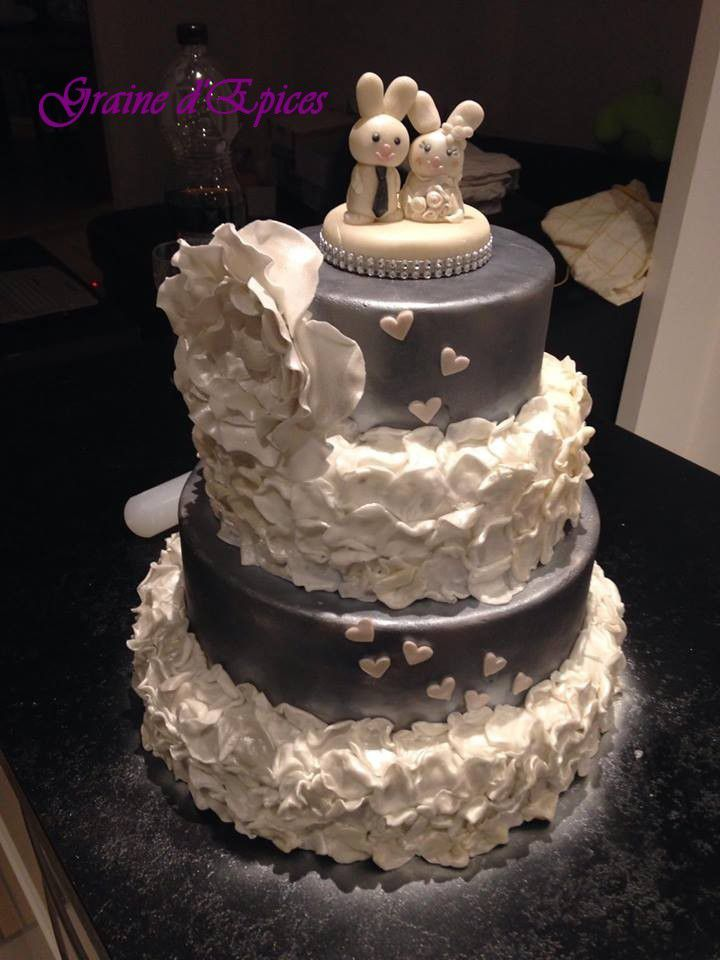 Mon Wedding Cake home made