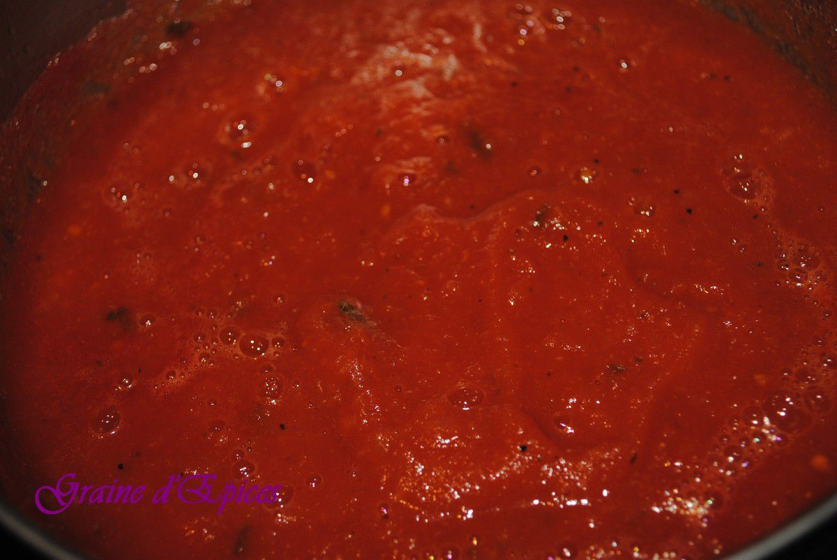 Sauce Tomate &amp&#x3B; Basilic maison
