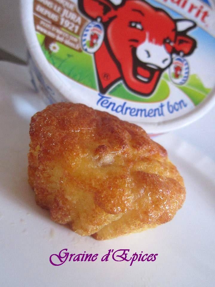 Muffins aux Lardons cœur Vache qui rit