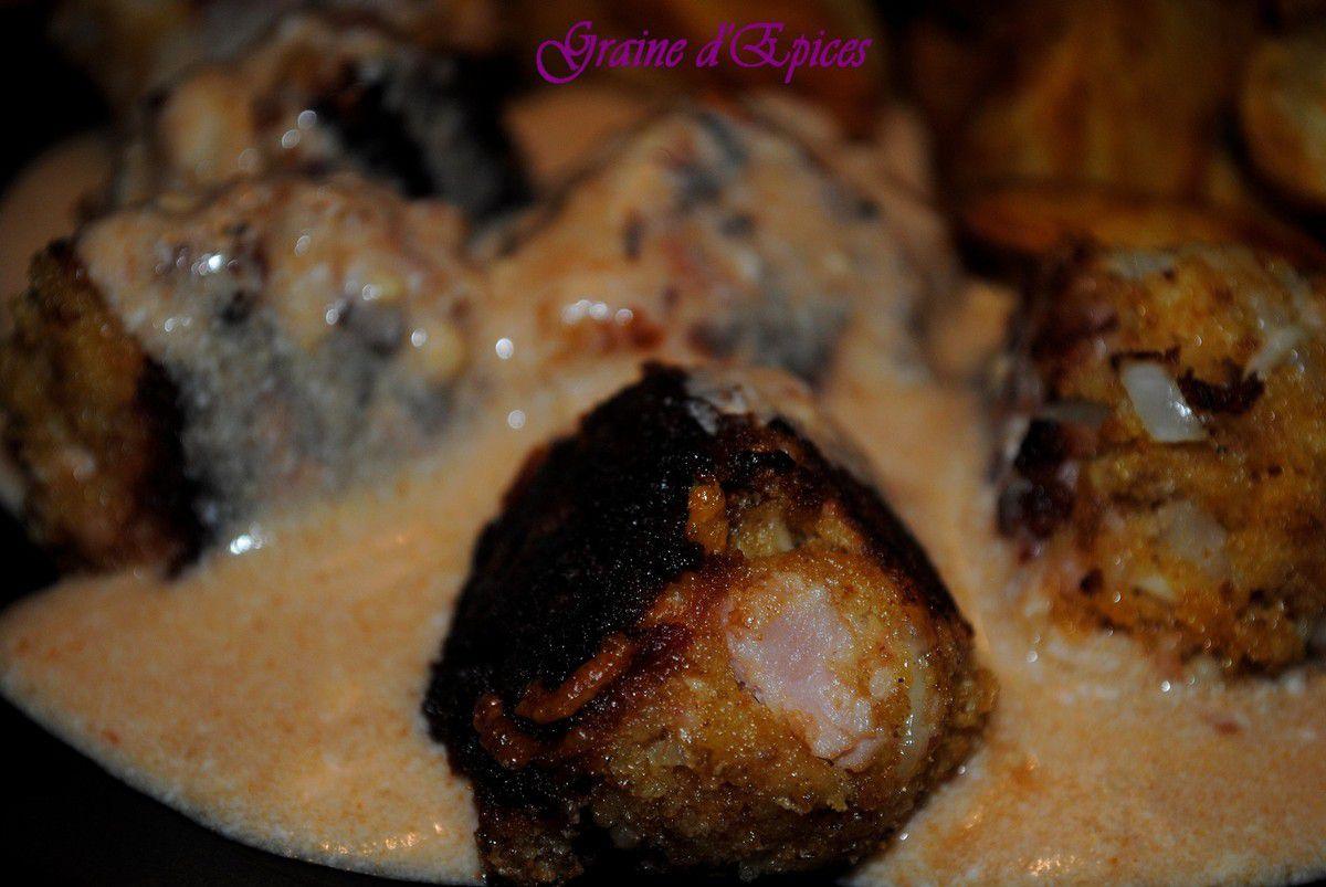 Boulettes de Jambon