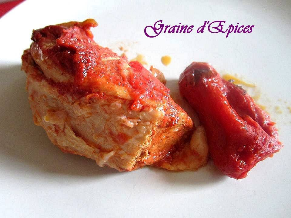 Rouelle de Porc à la Tomate
