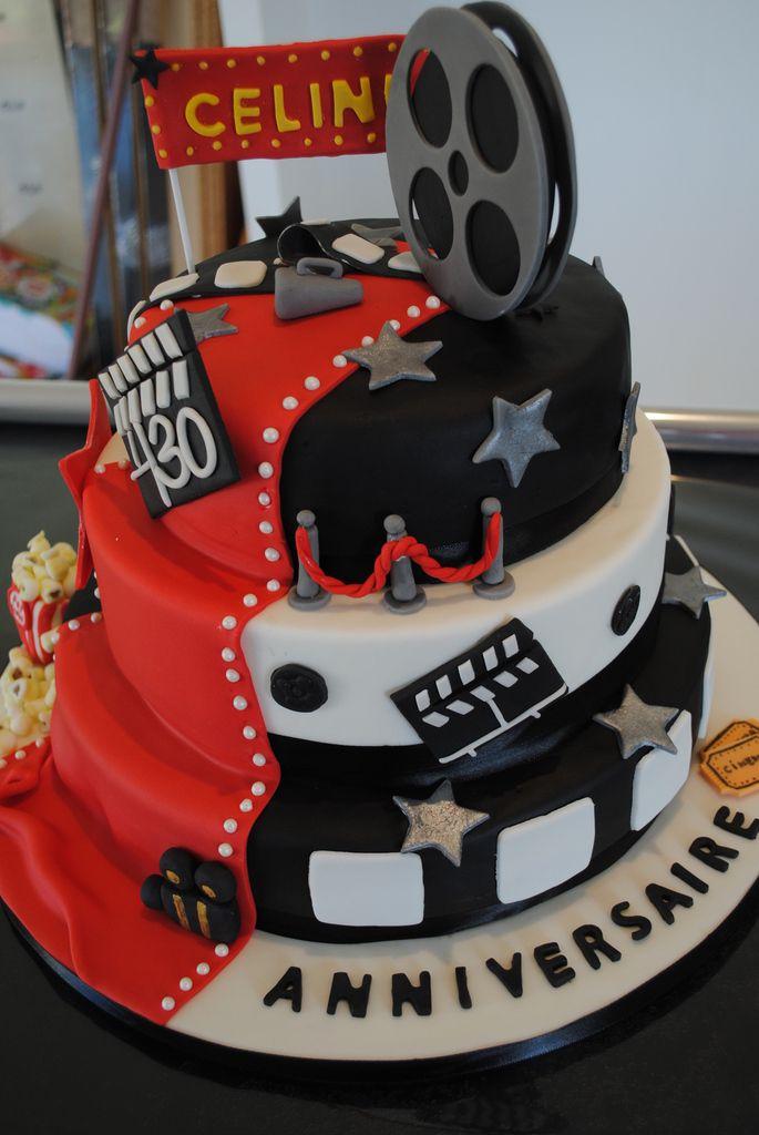 Cake design : Cinema Cake