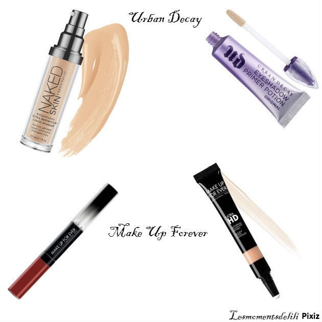 Urban Decay et Make Up Forever