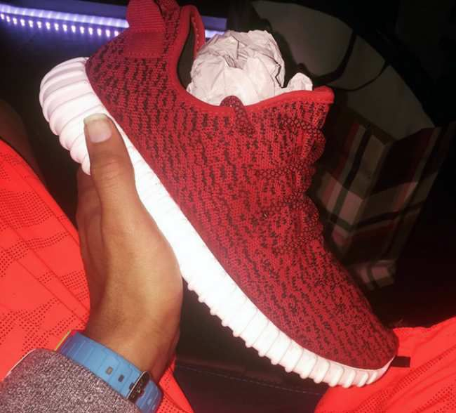 Adidas Yeezy Boost All Red