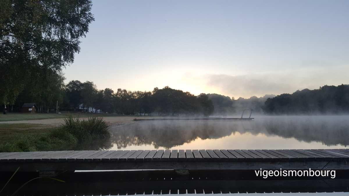 Brume matinale au Lac de Pontcharal