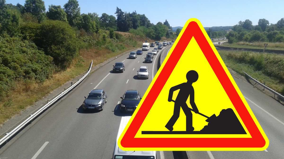 Autoroute A20: Attention travaux!