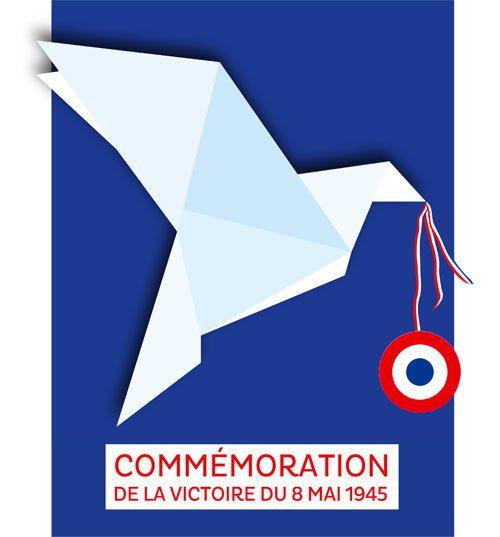 A 11 heures Commémoration de la Victoire du 8 Mai 1945