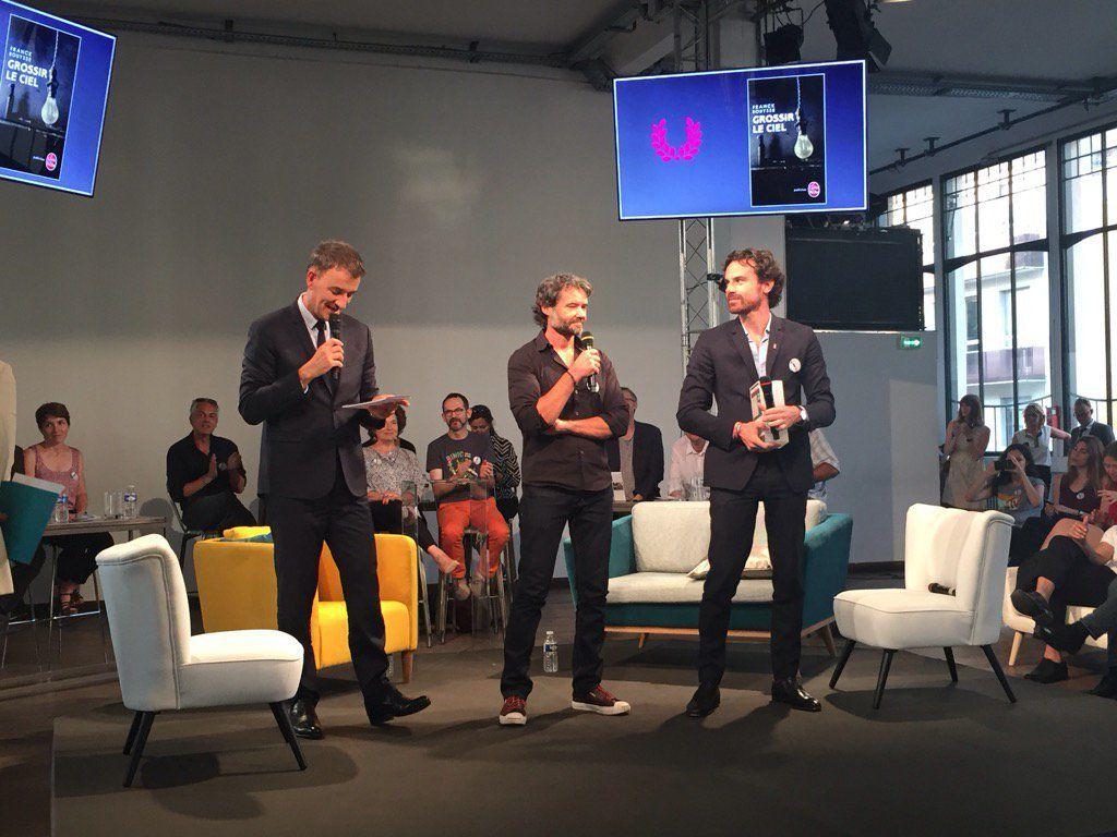 Franck BOUYSSE élu lauréat 2017 du Prix SNCF du Polar.