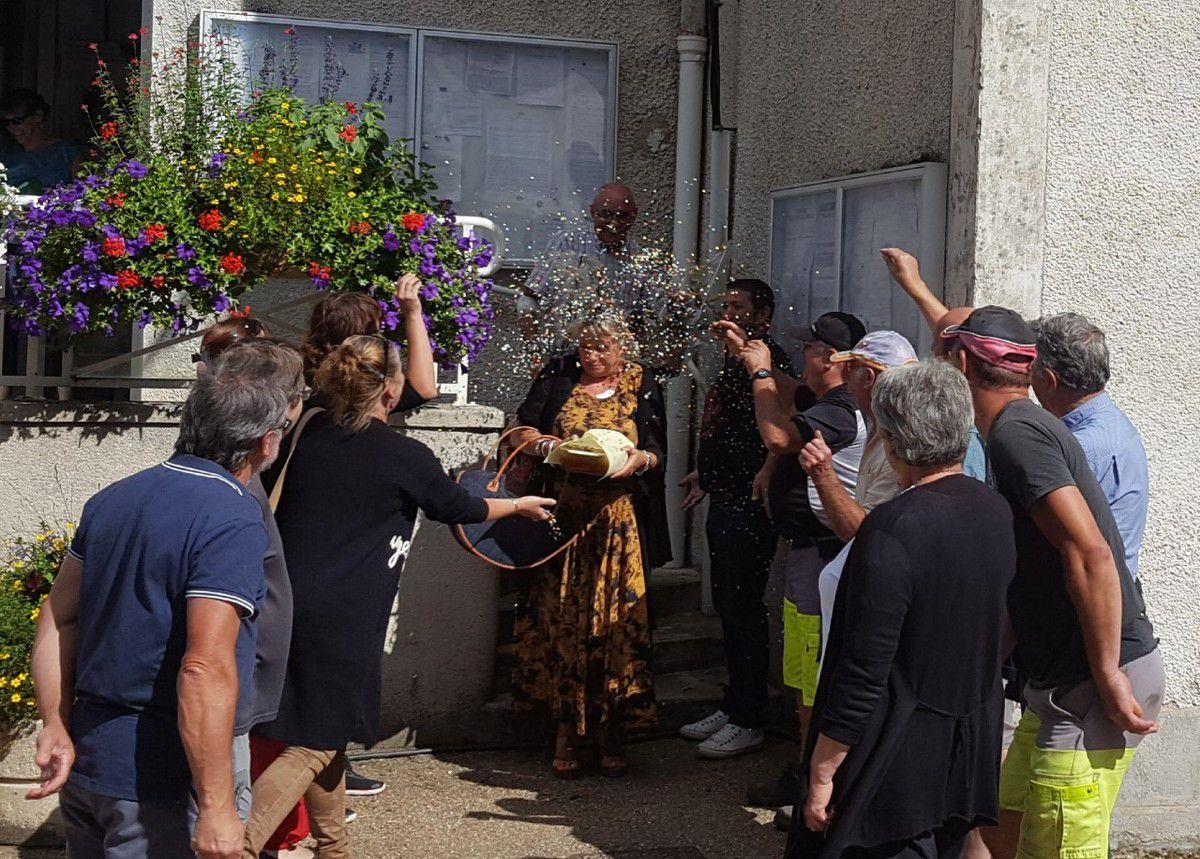 Bonne retraite à Marie-Ange TESSONNEAU, secrétaire de Mairie.
