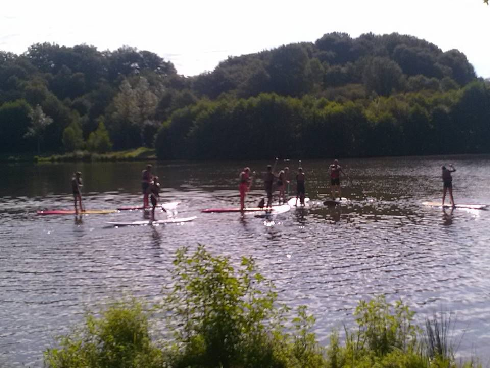 Initiation au paddle