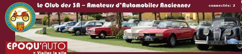 Ce Vendredi 8 Septembre rendez-vous avec le Grand Rallye des 3A de passage à Vigeois.