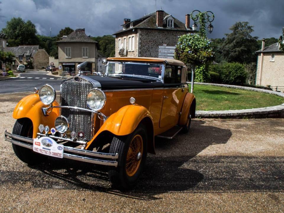 Le Rallye International DELAGE à Vigeois.