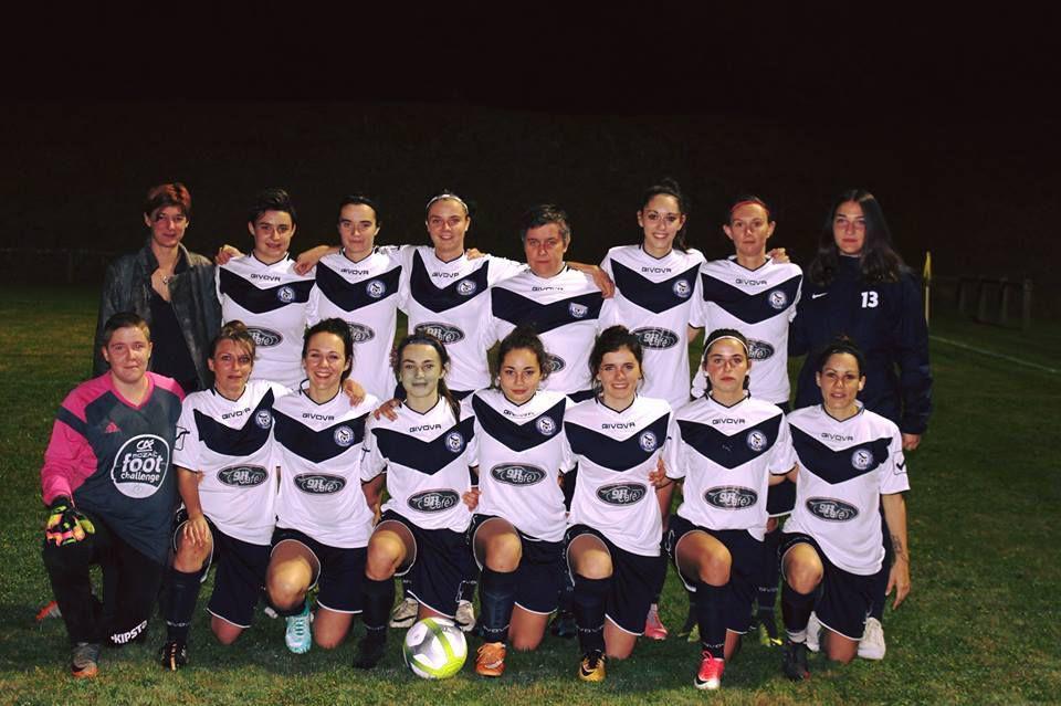 Magnifique victoire de l'Equipe féminine Chamberet-Vigeois/Troche/Uzerche contre l'US Saint-Vaury.