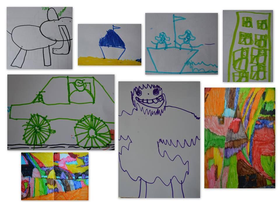 Les dessins de Maël