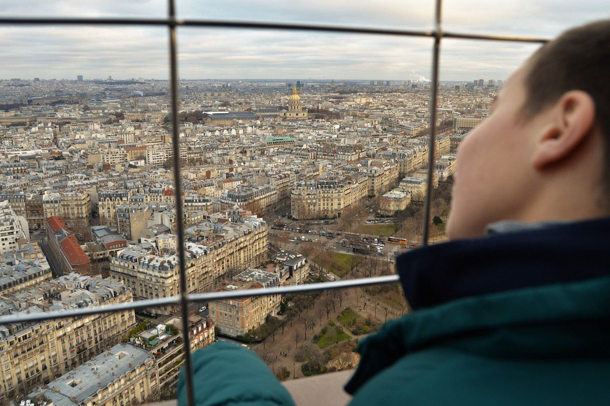 Viste de la Tour Eiffel