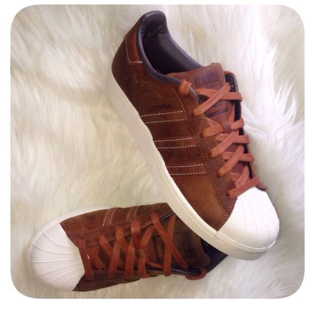 adidas superstar marron