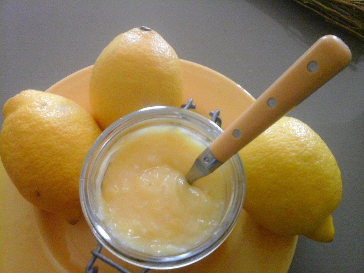 Lemon curd ou crème au citron