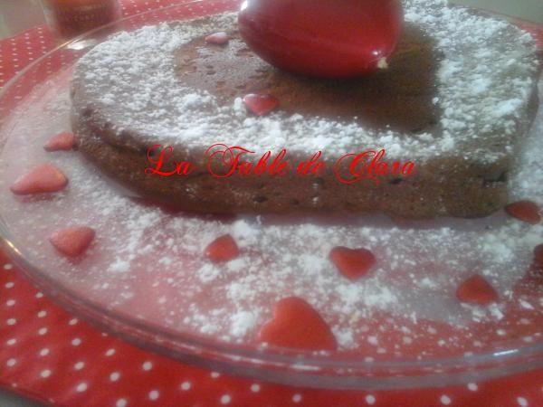 Coeur au chocolat pour votre Valentin(e)
