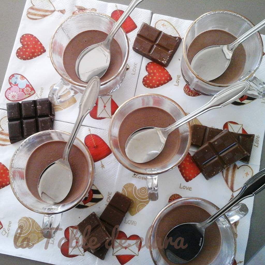 Panna Cotta au Chocolat
