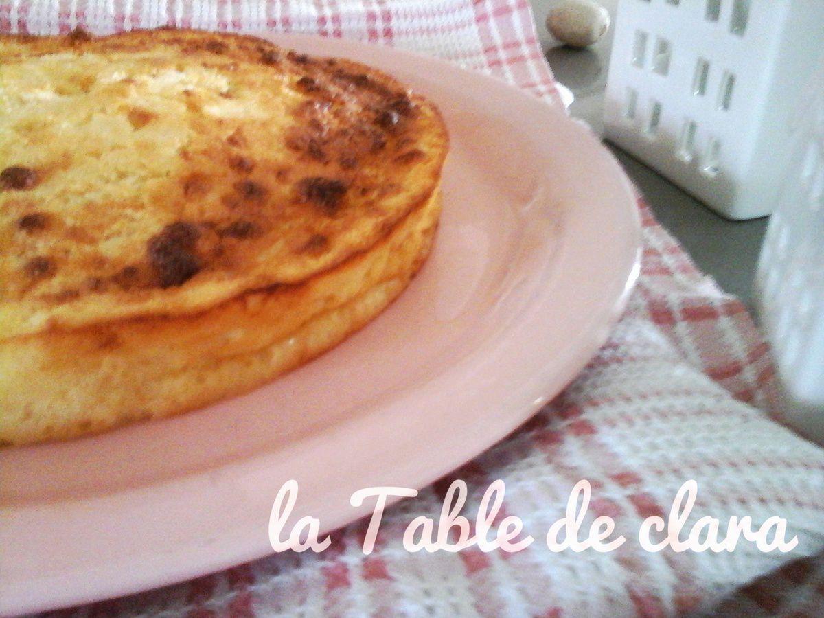 Melktert ( Dessert d'Afrique du Sud )