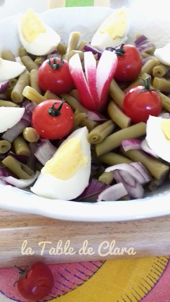 Salade haricots verts ( Partenariat Ederki )