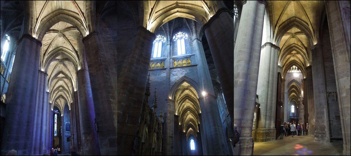 La cathédrale, vues intérieures 1
