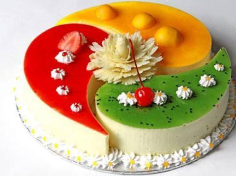 2 cách làm bánh gato sinh nhật rau câu độc lạ