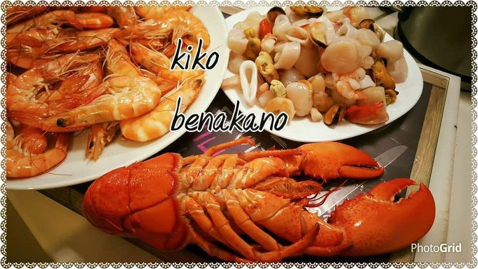 tagliatelles aux fruits de mer