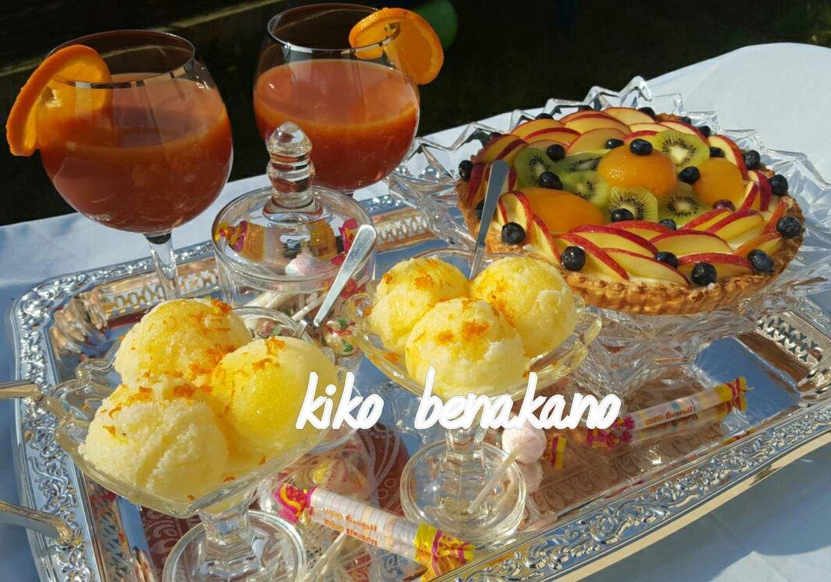 tarte aux fruits feuilletée