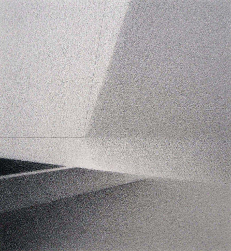 Rivage 1991-1998, crayon Conté 30,5 X 28 cm