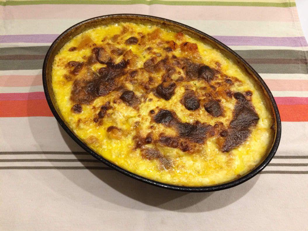 Gratin de potiron au Reblochon / Foodista challenge #45